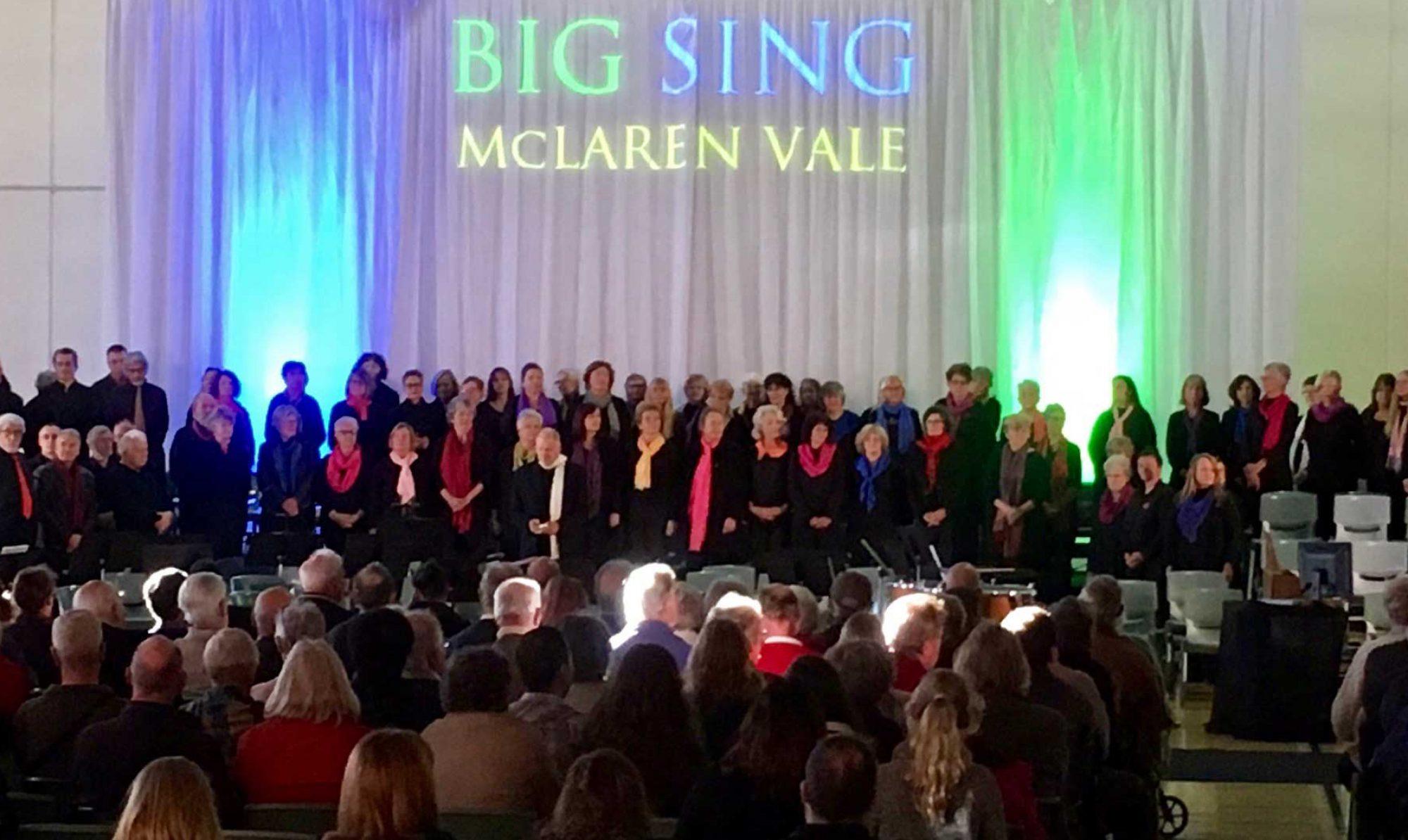 Big Sing McLaren Vale